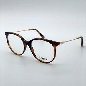 💯 Chloe  Havana Gold CE 2730 218 Women Eyeglasses